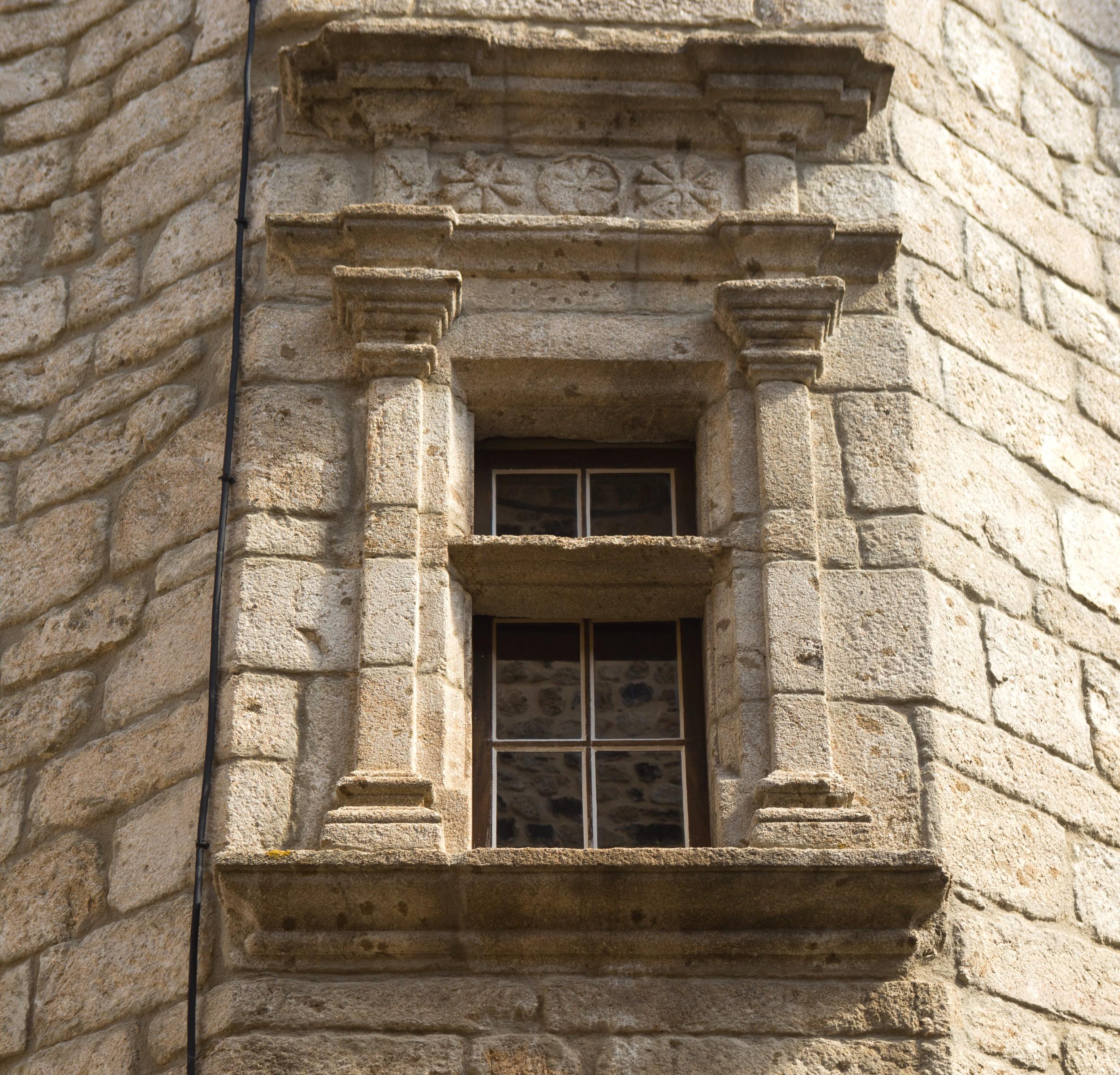 Thueyts - Maison Michel Pichot de Lespinasse-fenêtre ©S.BUGNON
