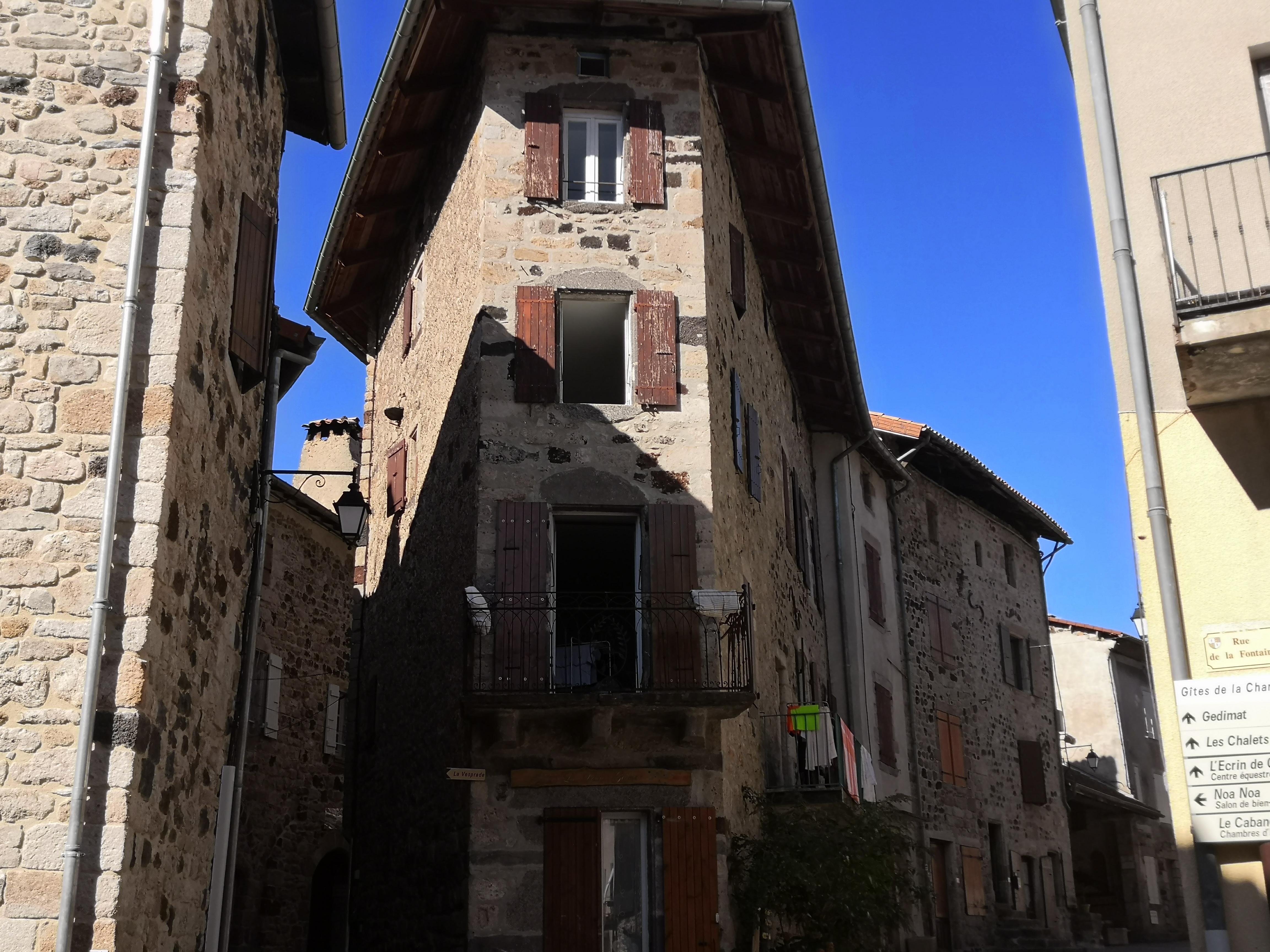 Thueyts - Maisons historiques ©Maëva-lopez