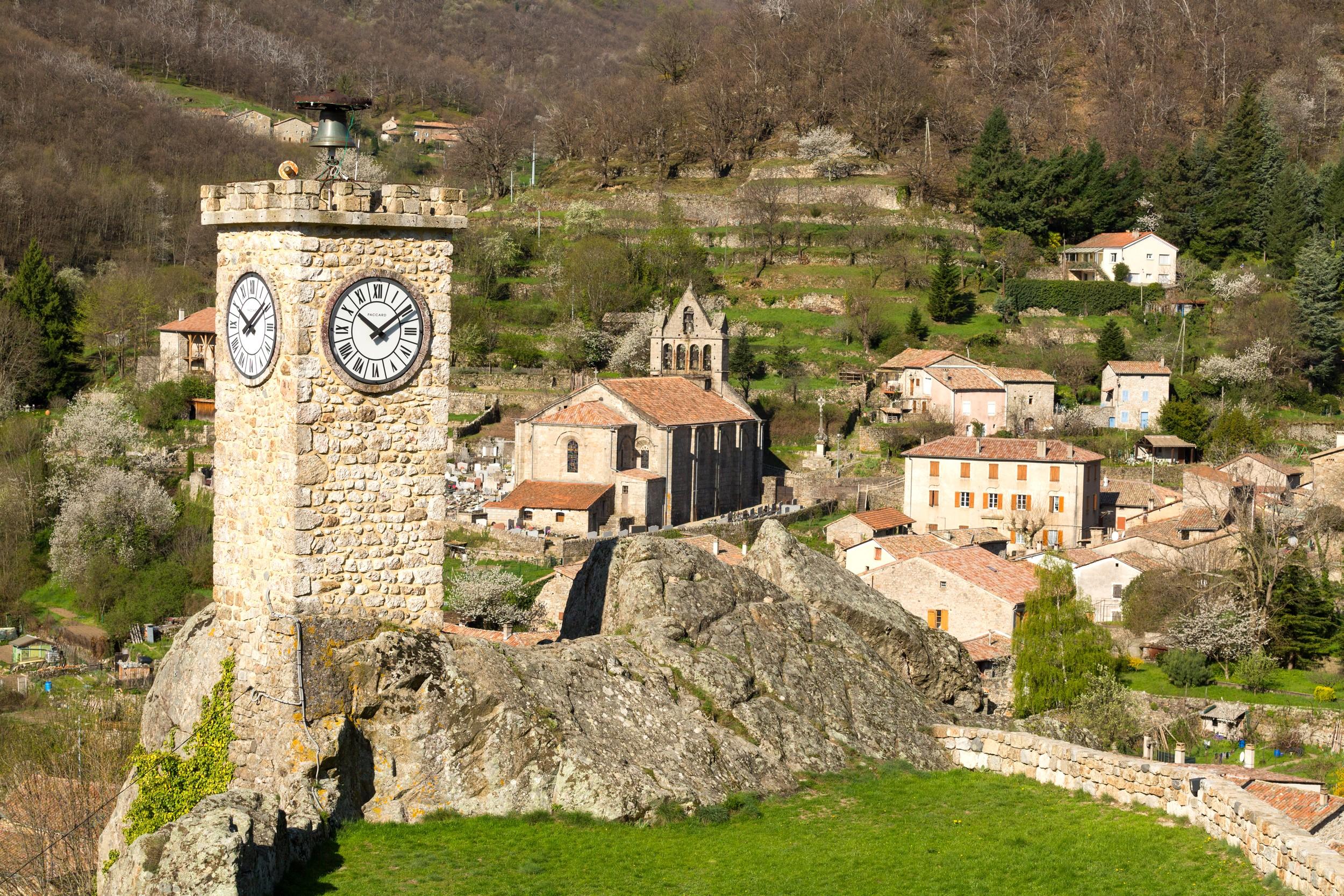 Burzet - La Tour de l'Horloge ©S.BUGNON