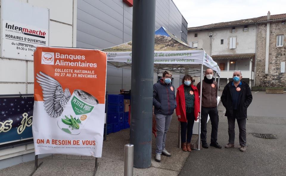collecte banque alimentaire