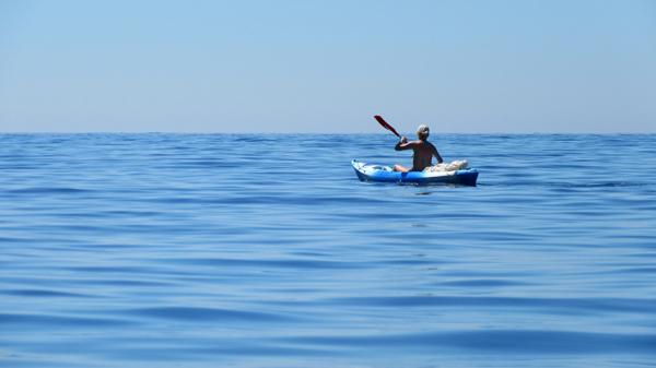 photo kayak des mers